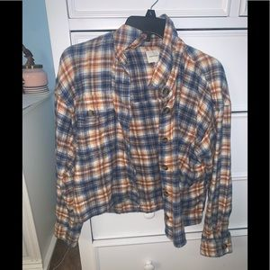 ae soft cropped flannel